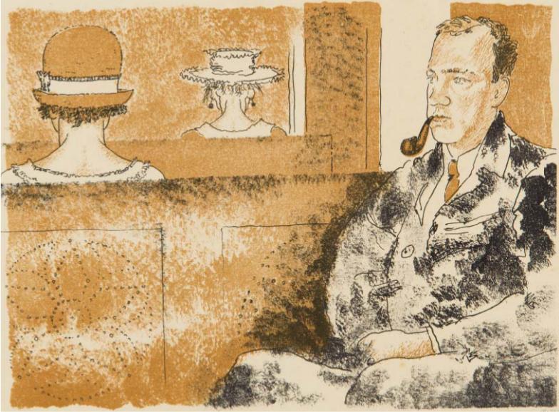 Портрет Э.Ф.Голлербаха.1926
